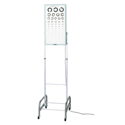 【送料無料】【無料健康相談付】試視力表照明装置(架台付)  5m用 12244【02P06Aug16】