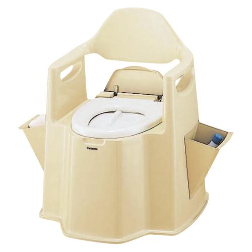 【送料無料】【専門家による1年間の無料介護相談付】ポータブルトイレ 背もたれ型デラックス  VALPTN5BE