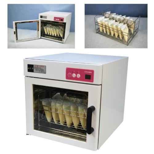 【送料無料】【無料健康相談 対象製品】温風循環式母乳解凍器 ミルソフト  200cc×14パック S-1