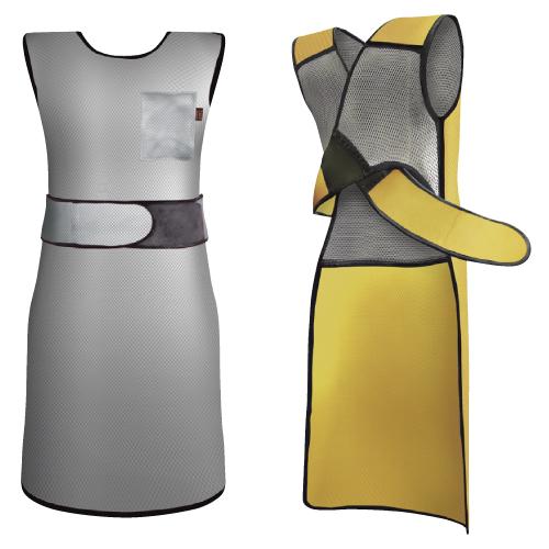 【送料無料】【無料健康相談 対象製品】放射線防護用前掛 フィットエプロン ピンク LL2.5kg WFA4-25LL【02P06Aug16】