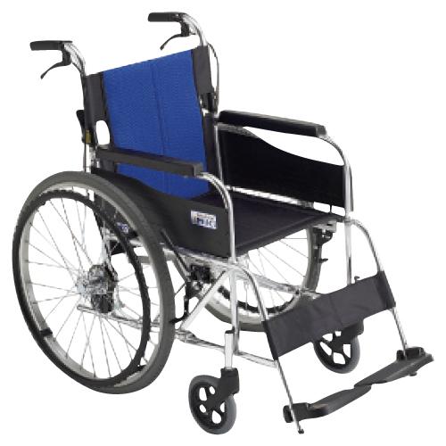 【送料無料】【無料健康相談付】車いす(アルミ製)自走用  背折れ BAL-1【02P06Aug16】