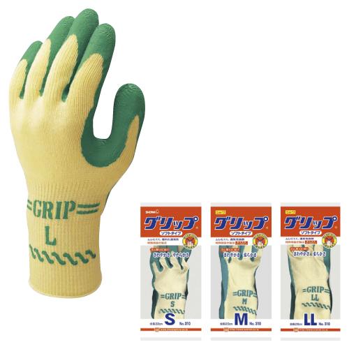 【送料無料】<ロット>作業用手袋 グリップ  L No.310 120双