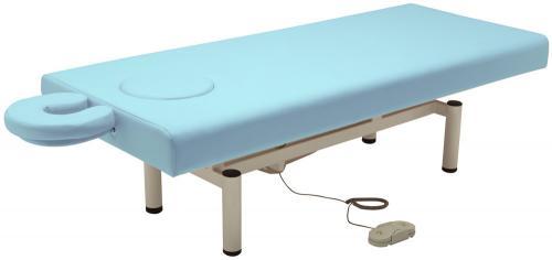 【メーカー直送品】FV-216 電動昇降BASICベッドDX ブルー W70/W75cm ※別途送料発生 ※W75
