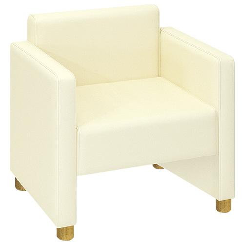 高田ベッド製作所 DLチェア TB-798-02 カラー:白 サイズ:W640×D530×H720