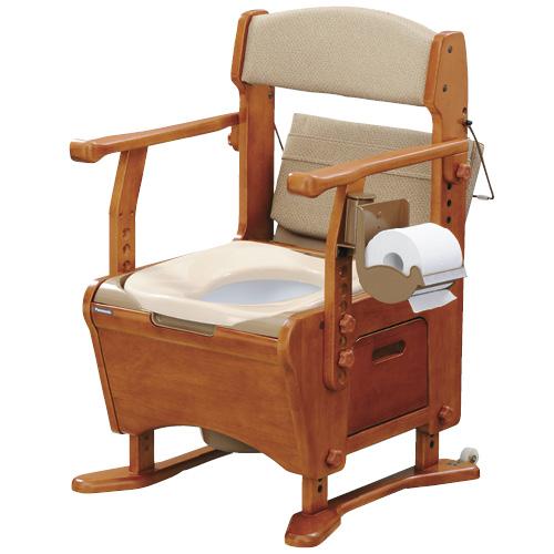 ピジョンタヒラ 家具調トイレ 座楽 アウポットベーシック PN-L21303 規格:あたたか便座