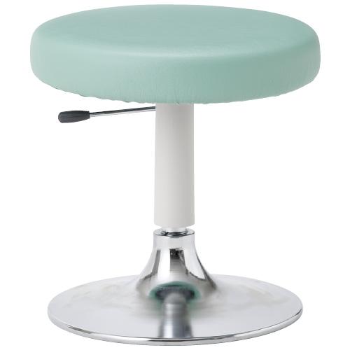 ノーリツイス マイスコ クランケチェア(背なし)ラージ MY-N3237 カラー:ミントグリーン 規格:円形ベースタイプ