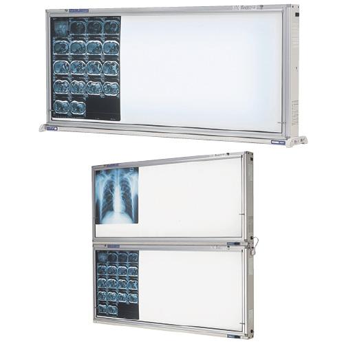 オリオン電機 インバーター式シャウカステン 卓上・壁掛型2段 ORS-H221-F 規格:半切判4枚掛(2枚2段)