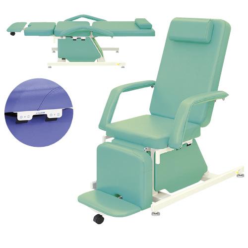 高田ベッド製作所 治療チェア(アジャスター) TB-530-02 カラー:メディグリーン