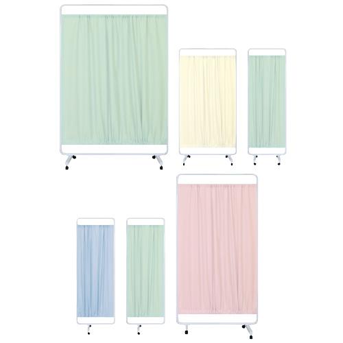 高田ベッド製作所 マイスコ衝立(独立型) MY-TP120AH カラー:グリーン サイズ(本体):W1200×H1800