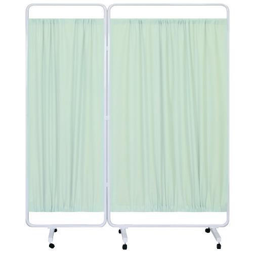 高田ベッド製作所 マイスコ衝立(組合せ) MY-TP96L カラー:グリーン サイズ(本体):W1500×H1600