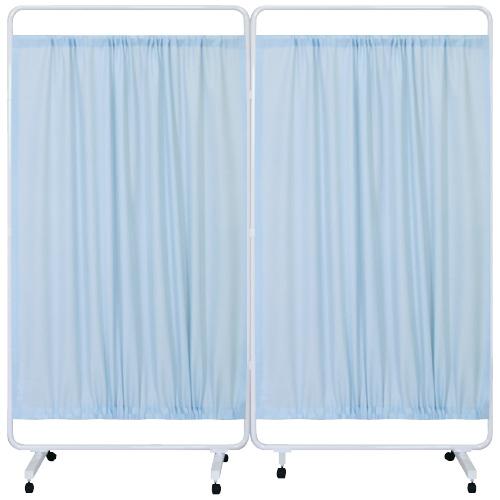 高田ベッド製作所 マイスコ衝立(組合せ) MY-TP99H カラー:ブルー サイズ(本体):W1800×H1800