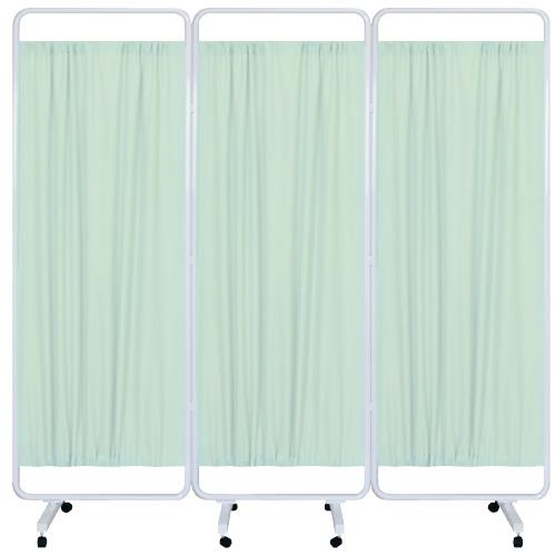 高田ベッド製作所 マイスコ衝立(組合せ) MY-TP666H カラー:グリーン サイズ(本体):W1800×H1800