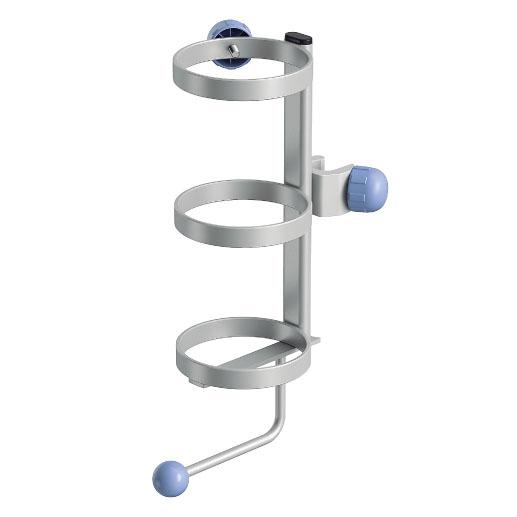 酸素ボンベホルダー(パラマウントベッド IVスタンド用)【本体別売り:部品のみの販売となります】