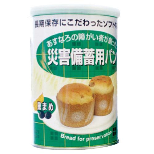 特殊衣料 災害備蓄用パン  規格:黒豆 入数:100g(2コ)×24缶