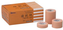 日東電工 新商品 優肌絆 送料無料(一部地域を除く) 不織布 スモールパック 3252S 25MMX7M 4カンイリ