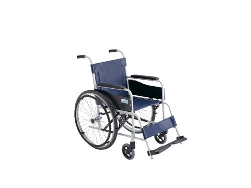 ミキ 車いす(自走・スチール)背固定 FE-4(400MM) 【大型商品メーカー直送 代引不可】