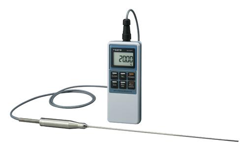 佐藤計量器製作所 810PT用低温センサ(グリップ) S810PT-30