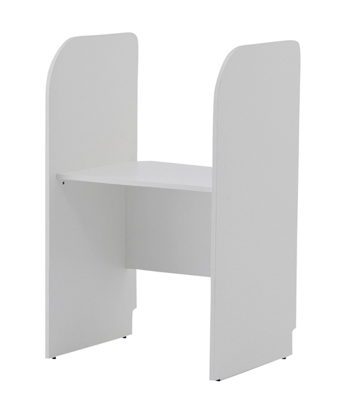 松吉医科器械 採血テーブル BST-7060(ホワイト) 【大型商品メーカー直送 代引不可】
