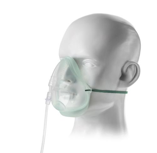 日本メディカルネクスト エコライト中濃度酸素マスク成人用 1135015(チューブツキ)40コ