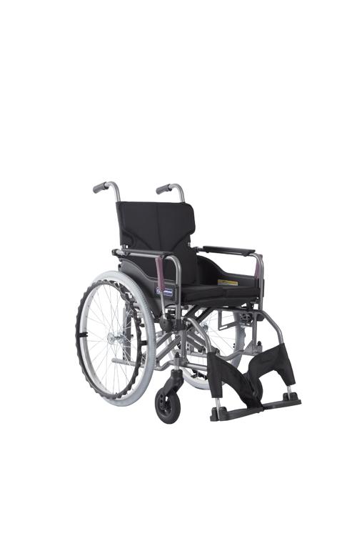 カワムラサイクル 車いす モダン Aスタイル KMD-A22-40-H チャコールグレー82 【大型商品メーカー直送 代引不可】