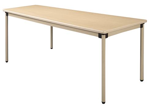 ウィズ 施設用テーブル UFT-KA1890(180X90X70 【大型商品メーカー直送 代引不可】