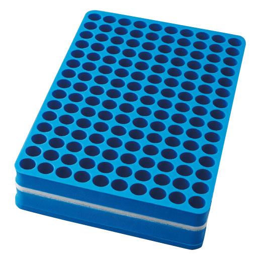 <ロット>発泡試験管立   規格:150本立サイズ:W196×D310×H50mm 5個