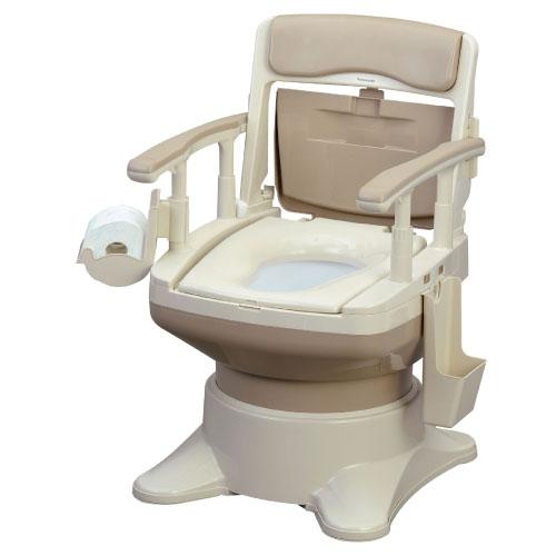 【送料無料】ポータブルトイレ座楽アウーネ  VAL30101C 規格:標準便座カラー:ベージュ