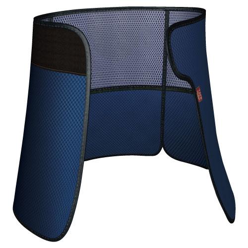 【送料無料】放射線防護用生殖腺防護具巻スカート ワンダーライト(無鉛) WSW4-35M ネイビー サイズ:M