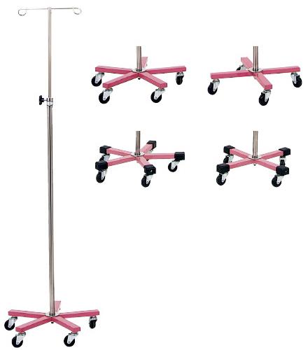 【送料無料】【無料健康相談 対象製品】マイスコカラーガートル台(ピンク)  5脚 MY-155PN-B【02P06Aug16】