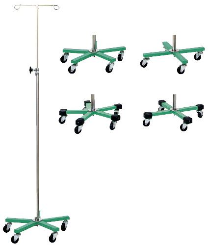 【送料無料】【無料健康相談 対象製品】マイスコカラーガートル台(緑)  5脚 MY-155GN-B【02P06Aug16】