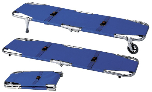 【送料無料】【無料健康相談 対象製品】折りたたみ式担架  A式2型