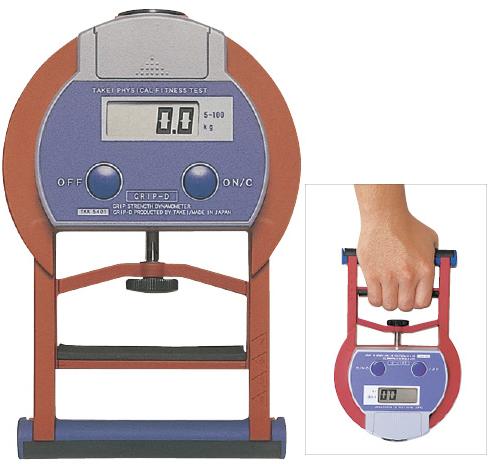 【送料無料】【無料健康相談付】デジタル握力計  T.K.K.5401