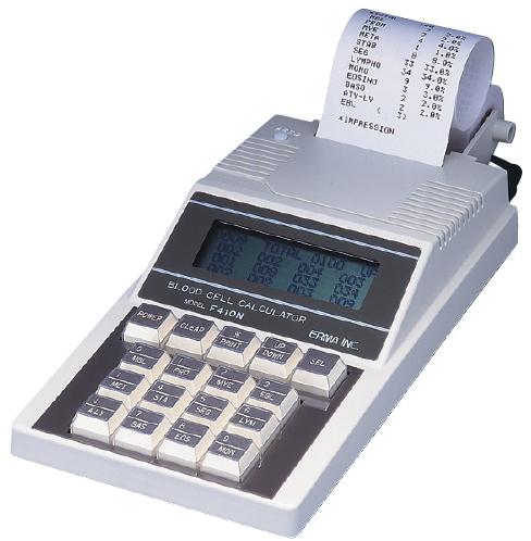 【送料無料】【無料健康相談付】血球分類計算器  F410N【02P06Aug16】
