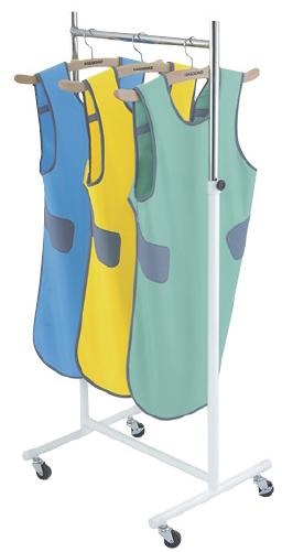 【送料無料】【無料健康相談 対象製品】X線防護衣用ハンガースタンド  10着程度掛 HS-211