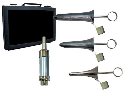 【送料無料】【無料健康相談 対象製品】筒型肛門鏡セット(黒川タイプI)  AT-KA101