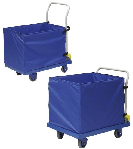 【送料無料】【無料健康相談 対象製品】運搬車(収納ボックス付静音台車)  NP-307EGS