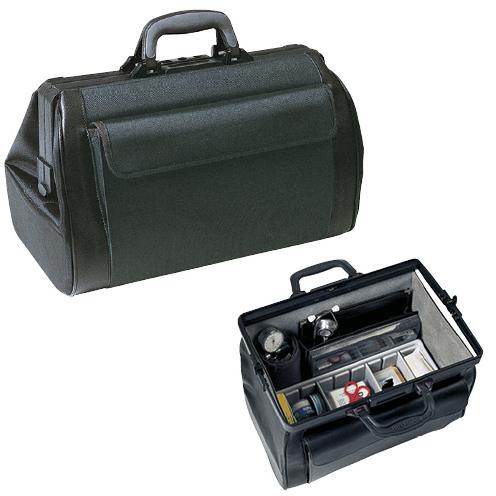 【送料無料】【無料健康相談付】往診鞄 ミディ・ライト W450×D250×H250mm 1.20.411