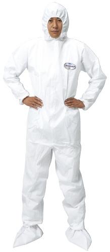 【送料無料】【無料健康相談 対象製品】クリーンガード ツナギ服A40  XL25枚 68732【02P06Aug16】
