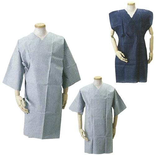 【送料無料】検査着 規格:紐サイズ(着丈):108cm入数:100枚 カラー:ブルー