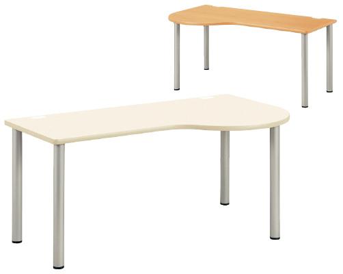 【送料無料】【無料健康相談 対象製品】ドクターテーブル 木目 W1400×D900×H700mm NSD-1490L
