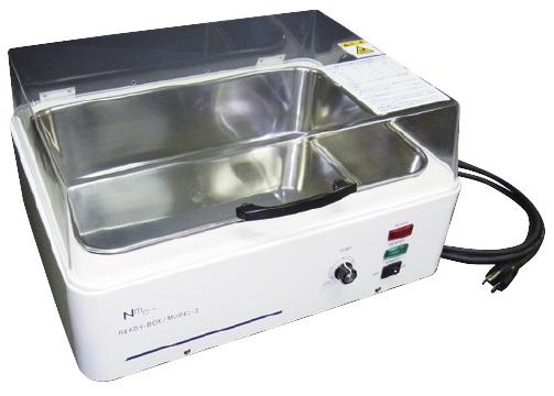 【送料無料】【無料健康相談 対象製品】造影剤加温器 レディボックス モデル3  W390×D310×H230mm