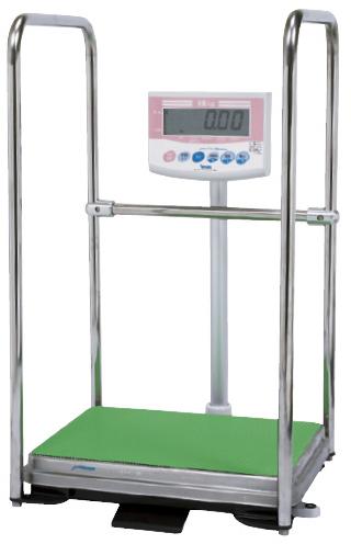【送料無料】【無料健康相談 対象製品】デジタル体重計・手すり付(検定品)  DP-7101PW-T