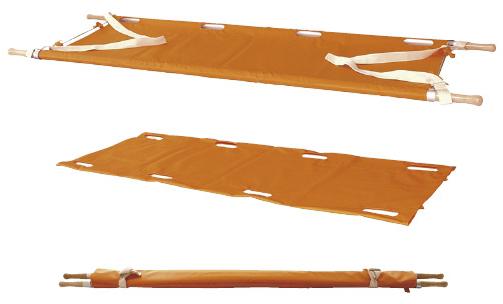 【送料無料】【無料健康相談 対象製品】カラー担架(布担架兼用) 白 アルミ約4.9kg【02P06Aug16】