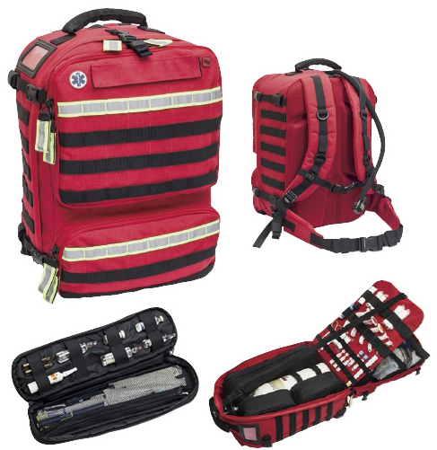【送料無料】【無料健康相談 対象製品】救急バッグ パラメド  W360×D260×H460mm EB210