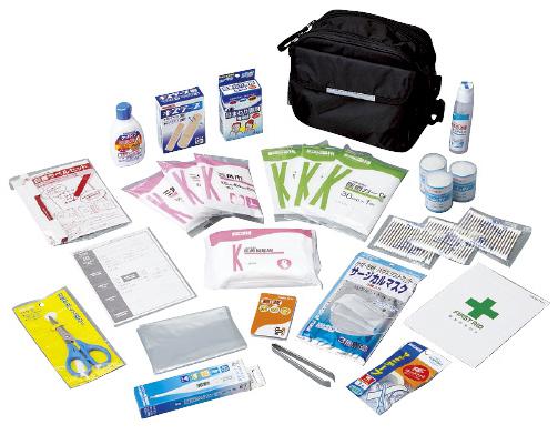 【送料無料】【無料健康相談 対象製品】救急用品セット  セット DRK-QS1D【02P06Aug16】