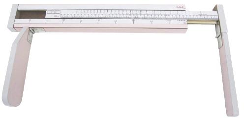 【送料無料】【無料健康相談付】乳児用三ツ折型身長計  ピンク YS802-P【02P06Aug16】