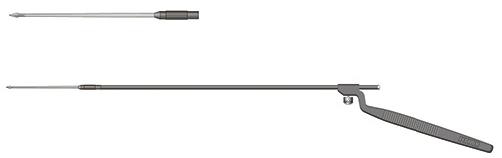 【送料無料】【無料健康相談 対象製品】微細手術用替刃メスハンドル(フェザー)  MF-200BA