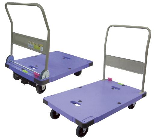 【送料無料】【無料健康相談 対象製品】運搬車(台車)  ハンドル折りたたみ NDSK-302B2