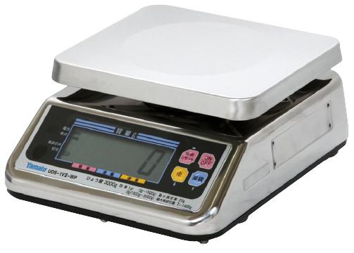 【送料無料】デジタル上皿はかり(検定品)  UDS-1VII-WP-3 ひょう量:3000g目量:1g/2g