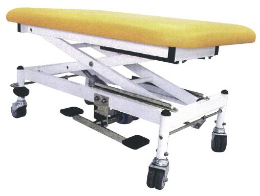 【送料無料】マニュアルテーブル  R-286-D グレー サイズ:W650×L1000×H550?1000mm